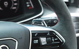 Audi RS6 Avant 2020 road test review - paddle shifters