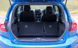 Ford Fiesta ST 2018 road test review boot with seats down