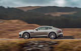 Jaguar F-Type 2020 road test review - on the road side
