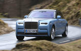 Rolls Royce Phantom 2018 review cornering