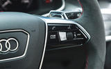 Audi RS6 Avant 2020 road test review - RS mode button