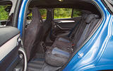 BMW X2 M35i 2019 road test review - rear seats