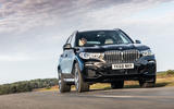 BMW X5 2018 road test review - low angle
