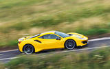 Ferrari 488 Pista 2019 road test review - on the road side