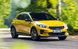 Kia Xceed 2019 road test review - cornering front