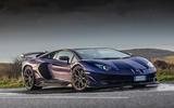 Lamborghini Aventador SVJ 2019 road test review - static front