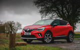 Renault Captur 2020 road test review - static