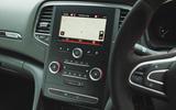 Renault Megane RS Trophy-R 2019 road test review - centre console