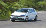 Volkswagen Polo GTI 2018 road test review cornering front