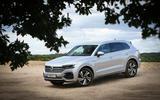 Volkswagen Touareg 2018 road test review hero static