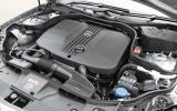 2.1-litre Mercedes-Benz CLS diesel engine