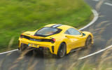Ferrari 488 Pista 2019 road test review - on the road rear