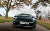 Ford Mustang Bullitt 2018 road test review - on the road nose
