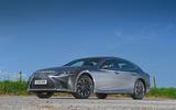 Lexus LS500h 2018 road test review static hero