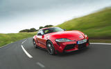 Toyota GR Supra 2019 road test review - on the road front