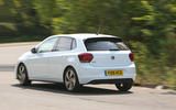 Volkswagen Polo GTI 2018 road test review cornering rear