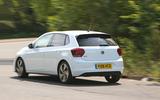 Volkswagen Polo GTI 2018 road test review cornering rear