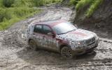 BMW X3 in mud