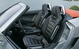 Volkswagen BlueSport front seats