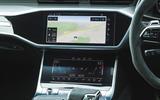 Audi RS6 Avant 2020 road test review - centre console