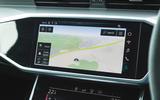 Audi RS6 Avant 2020 road test review - navigation