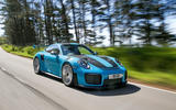 Porsche 911 GT2 RS 2018 road test review on the road front