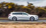 Vauxhall Insignia Sports Tourer GSI review on the road side