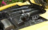Ferrari Scuderia Spider 16M engine bay