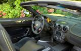 Ferrari Scuderia Spider 16M interior