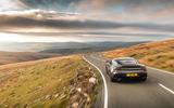 Aston Martin DBS Superleggera 2018 road test review - driving rear