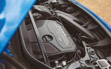 BMW X2 M35i 2019 road test review - engine header