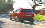Citroen C5 Aircross 2019 road test review - cornering rear