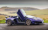 Lamborghini Aventador SVJ 2019 road test review - static doors
