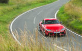 Toyota GR Supra 2019 road test review - cornering front