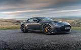 Aston Martin DBS Superleggera 2018 road test review - hero static
