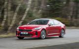 Kia Stinger GT line 2018 review cornering