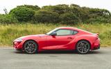 Toyota GR Supra 2019 road test review - static side