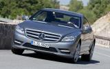 Mercedes-Benz CL 500 cornering