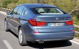 BMW 5 Series GT rear cornering