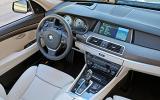 BMW 5 Series GT dashboard