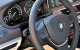 BMW 5 Series GT steering wheel
