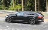Jaguar XFR-S Sportbrake spotted