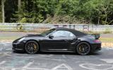 2014 Porsche 911 Turbo S Cabriolet spotted undisguised
