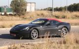 Ferrari California replacement spotted - new pictures