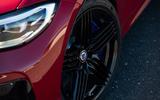 Alpina B3 2020 road test review - alloy wheels