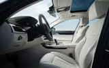 Alpina B7 2019 review - front seats