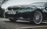 4 alpina d3 touring 2021 uk first drive review front end