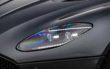 Aston Martin DBS Superleggera 2018 road test review - headlights