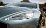 Aston Martin Rapide AMR 2019 first drive review - headlights