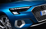 Audi A3 Sportback 2020 road test review - headlights